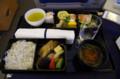 [旅][飛行機]ビジネスクラスの機内食