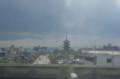 [旅][のりもの]新幹線から見る教王護国寺(東寺)