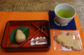 [うおがし銘茶][イベント]茶の実倶楽部で「新茶のすすめ」 謹賀新茶セットと新茶の手紙