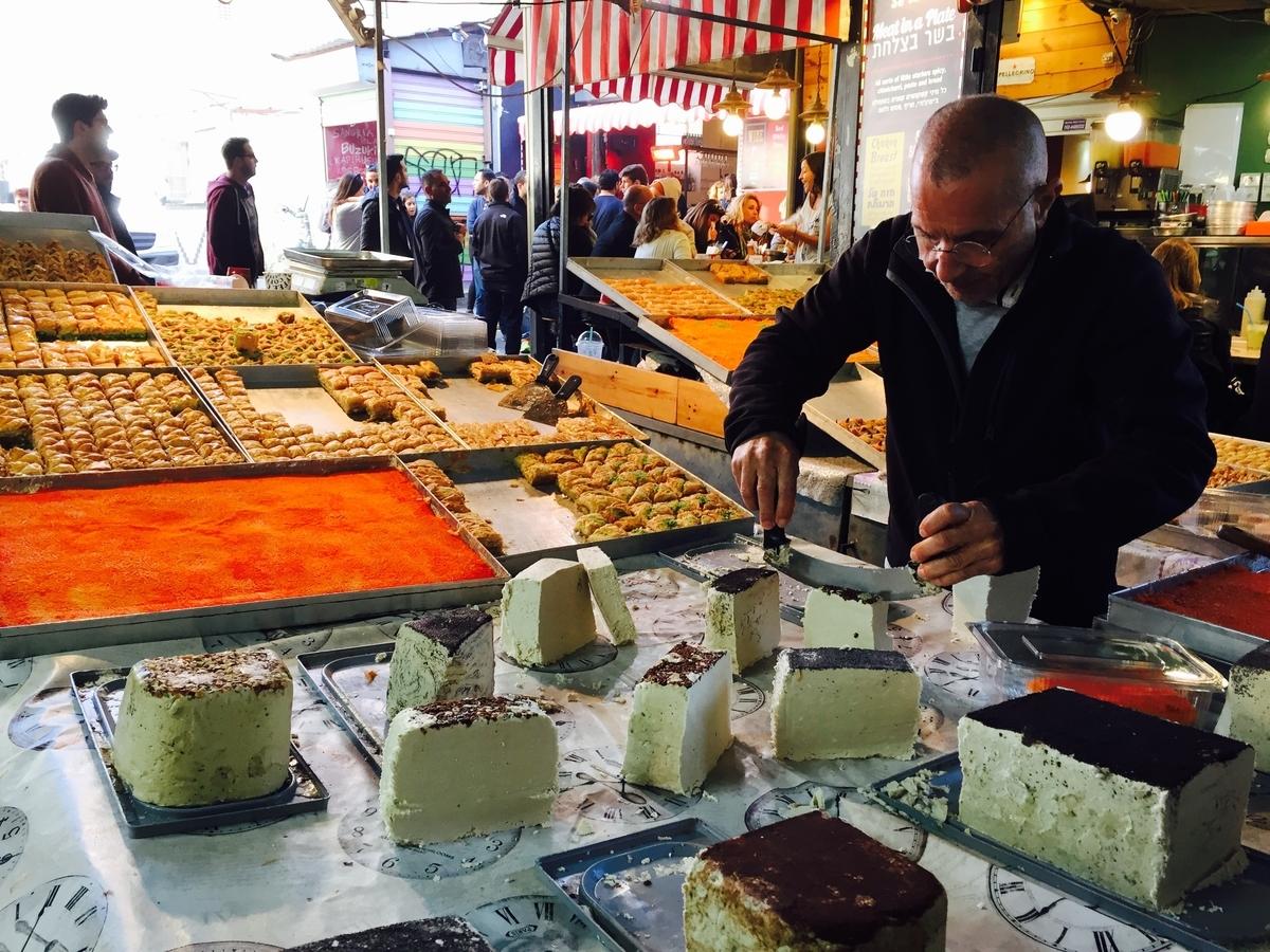 テルアビブのマーケット