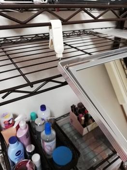 鏡の吊るし方