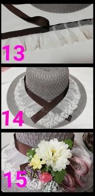 帽子飾り4
