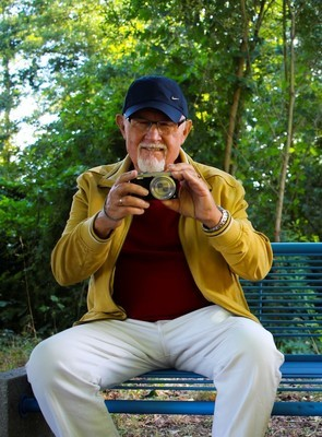 老人とカメラ