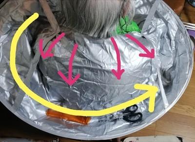 ケープの使用方法