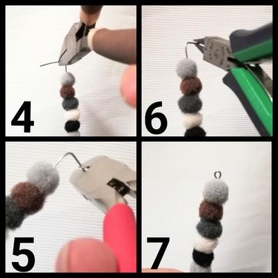 イヤリングの作り方