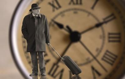 老人と時計