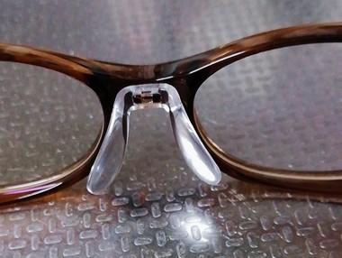 眼鏡の鼻パッド