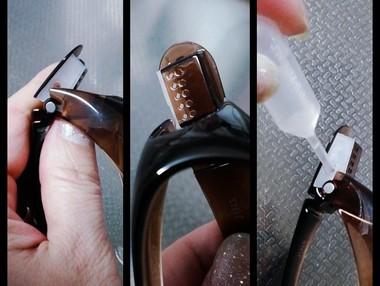 眼鏡の保湿タンク
