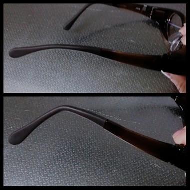 眼鏡のラバー部分