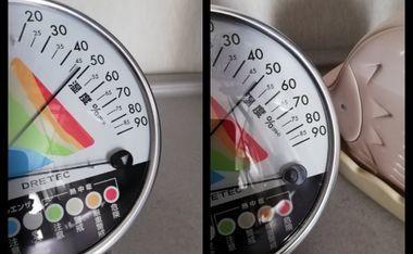 加湿器の湿度計測
