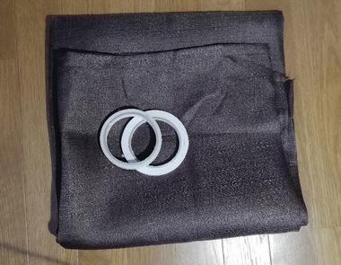 布と両面テープ