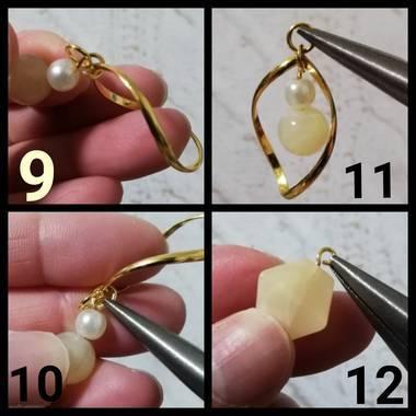 イヤリングの作り方3
