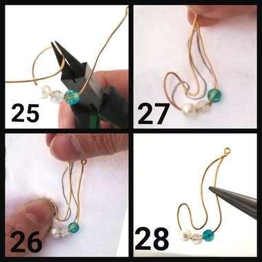 イヤリングの作作り方7