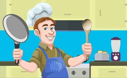 キッチンの絵