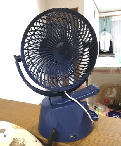 卓上小型扇風機