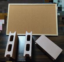 卓上スタンディングデスクを作る材料