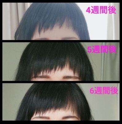 前髪の伸びるスピード