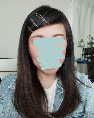 前髪の対処法