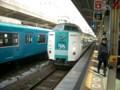 [Kii_0812]くろしお1号@和歌山駅