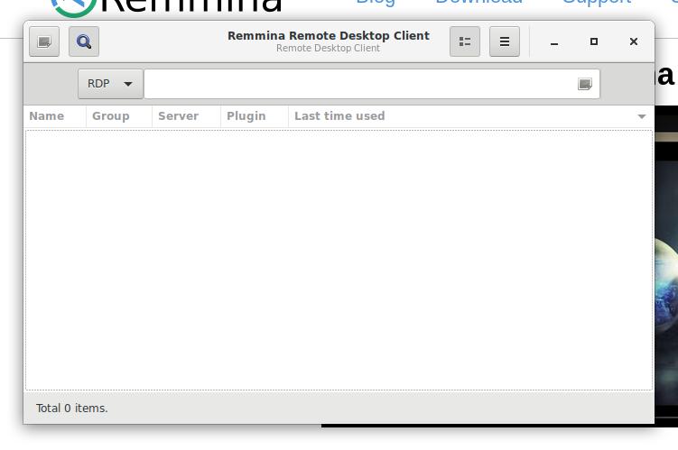 Use Remmina on CentOS7 - HeavyMoon