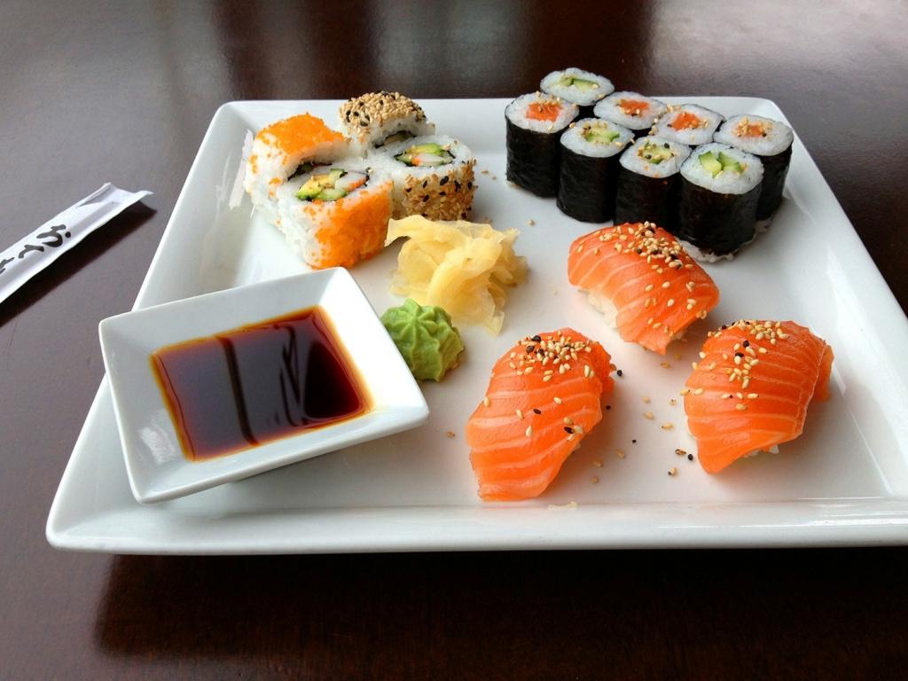 海外の寿司