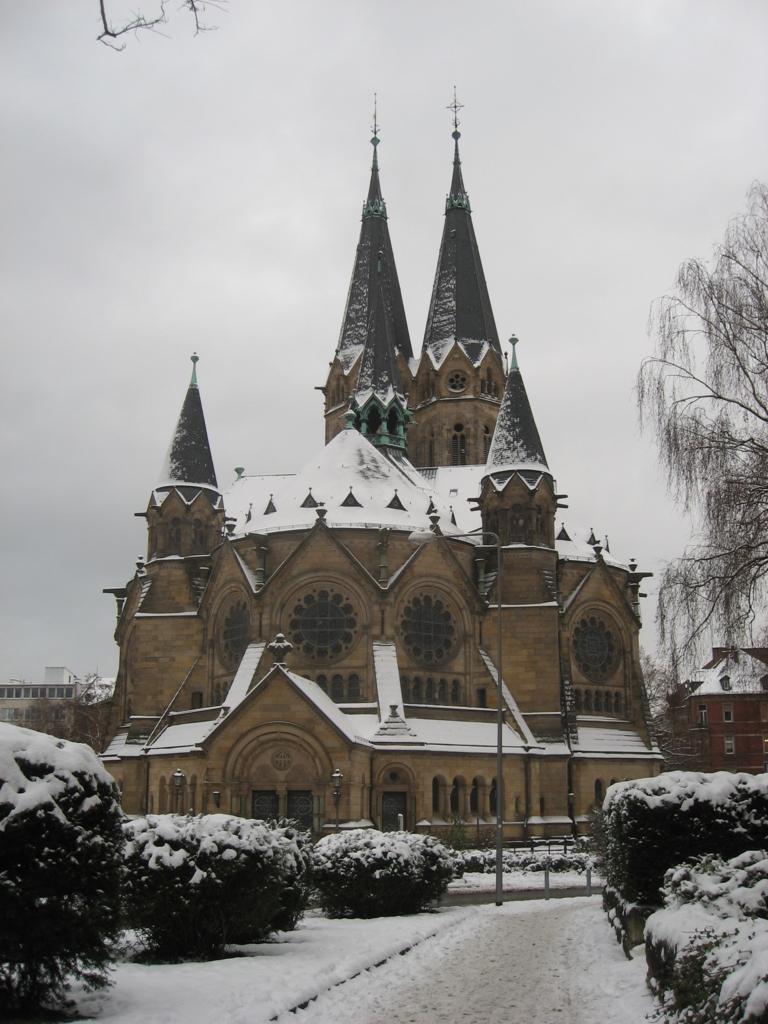 フリーメイソン建築の教会
