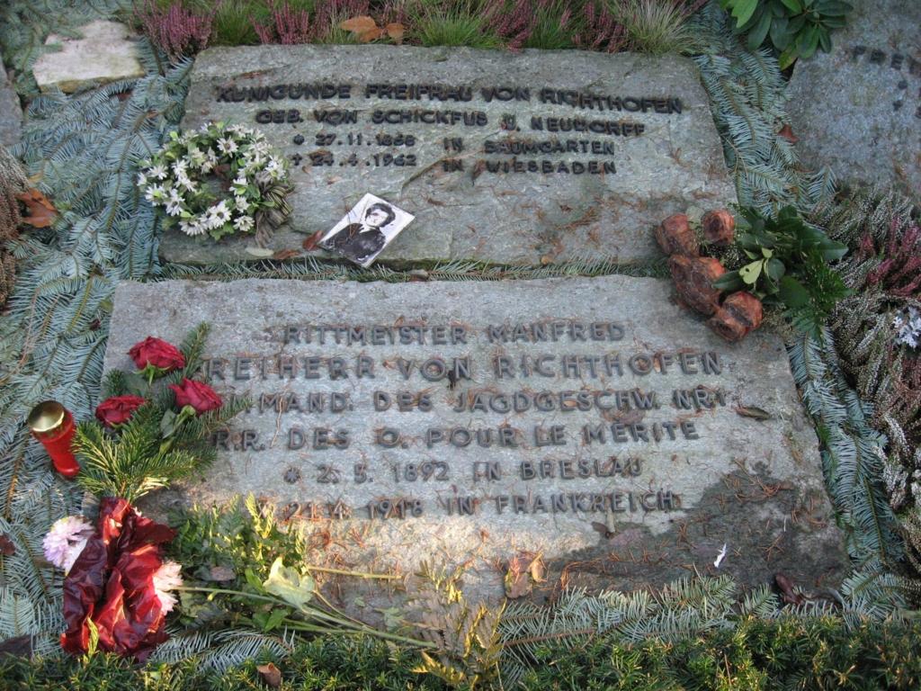 リヒトホーフェン母の墓