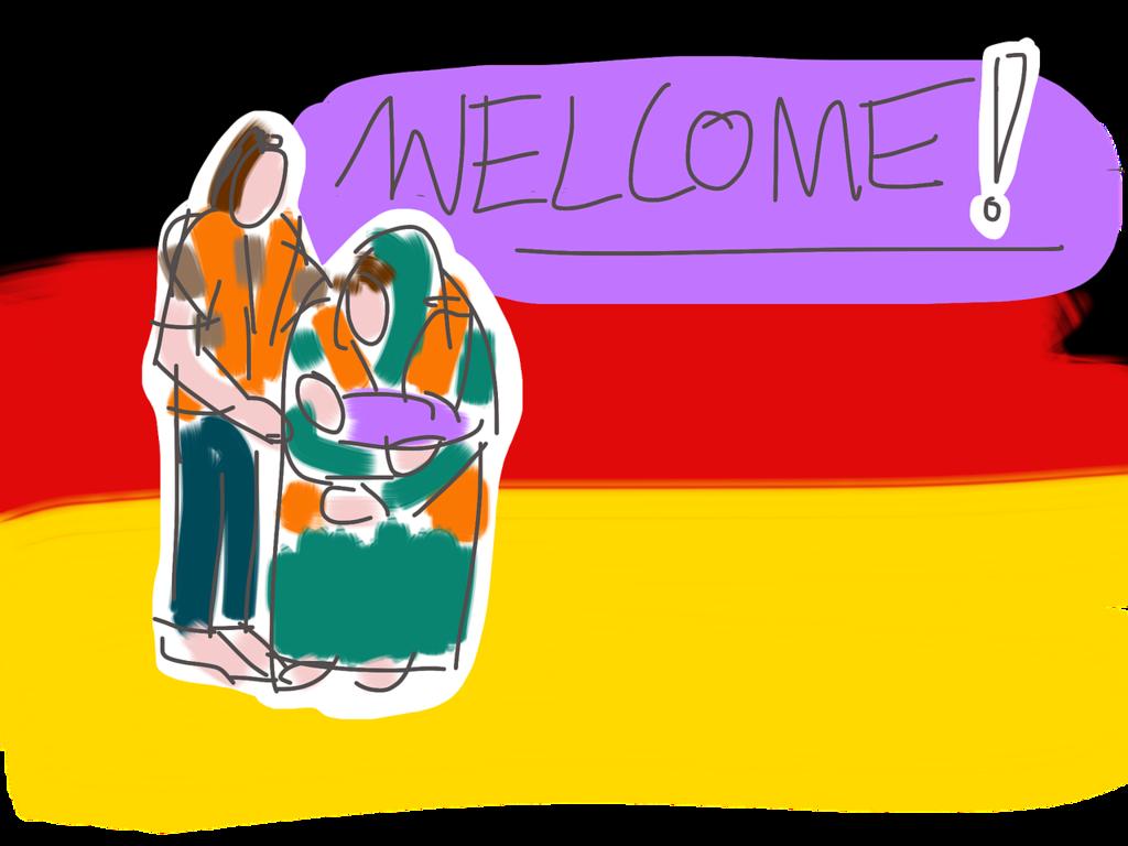 難民ウェルカム
