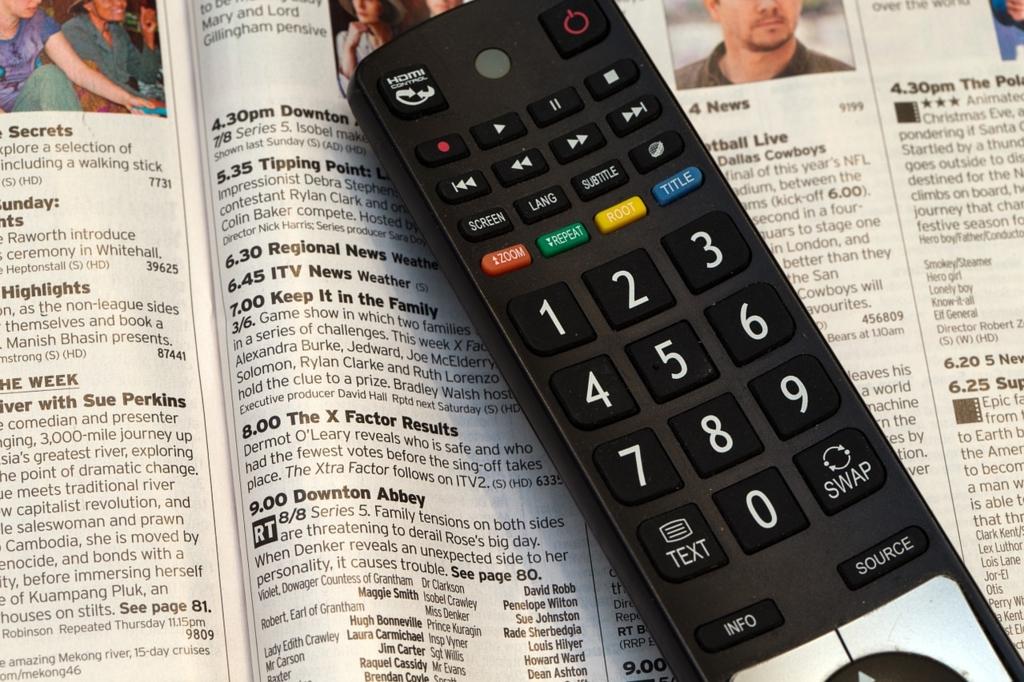 外国のテレビ視聴