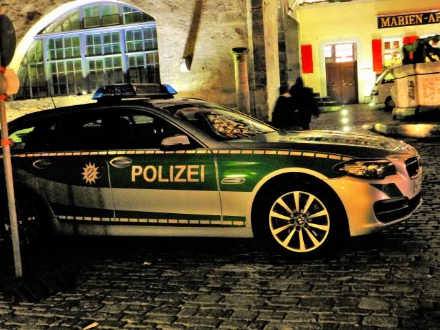 ドイツのパトカー