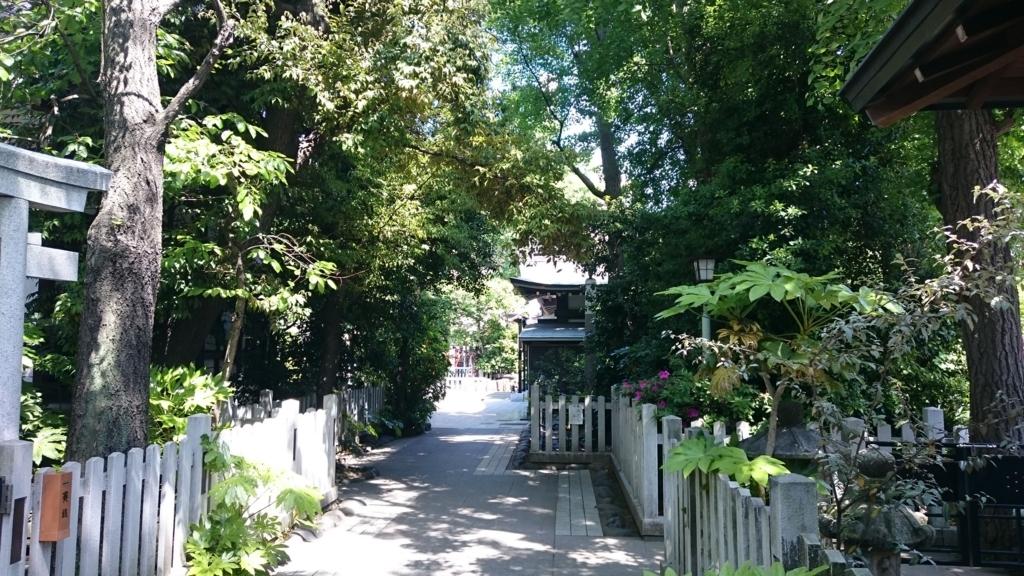 浅草の神社