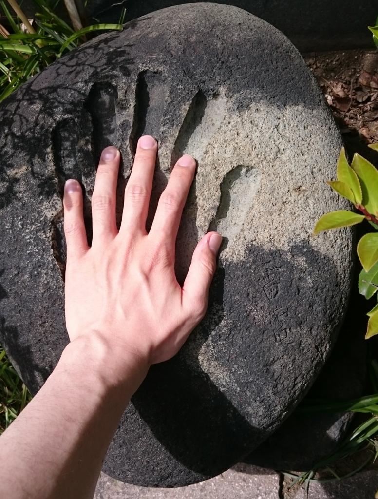 雷電の手形