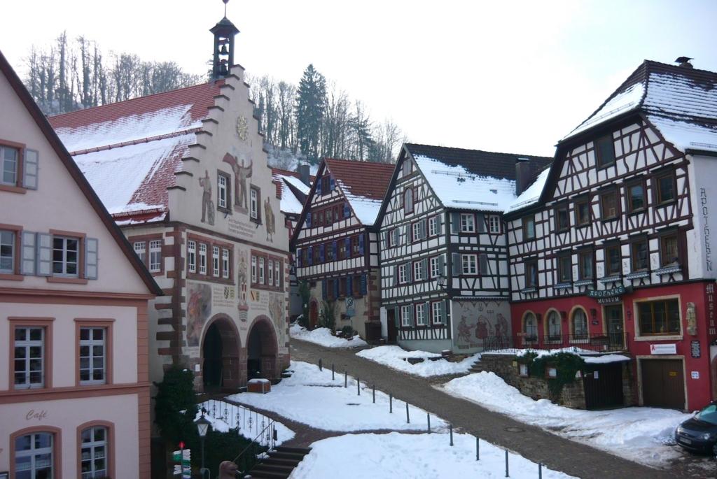 ドイツの冬は極寒で天気も曇りがち