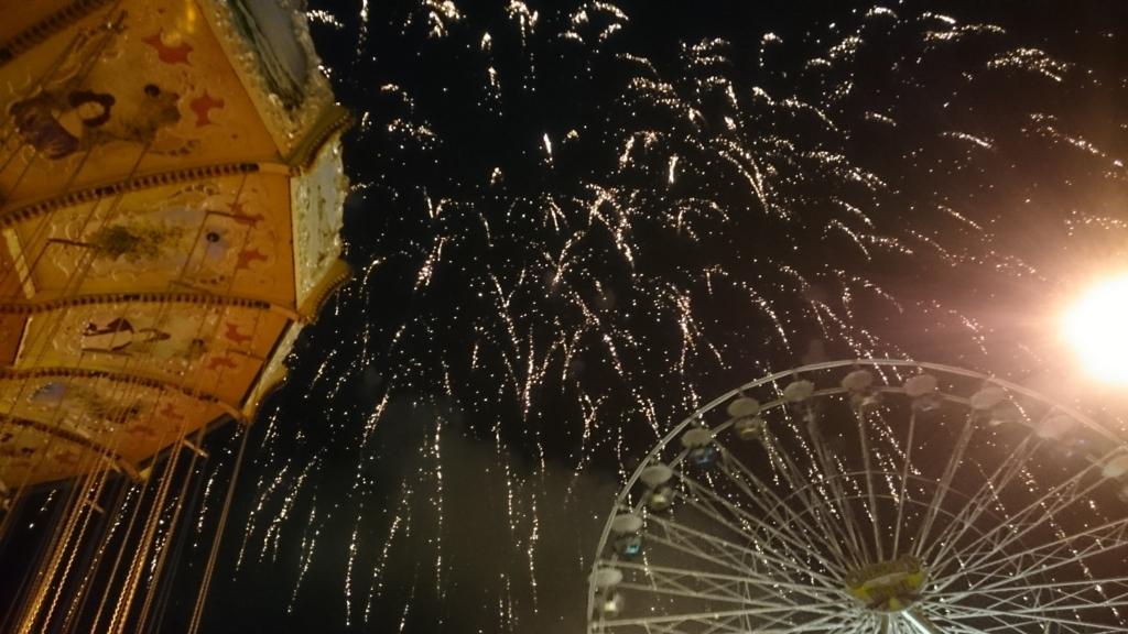 アメリカの花火を独立記念日に見る