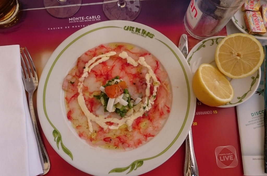 モナコのおいしい料理