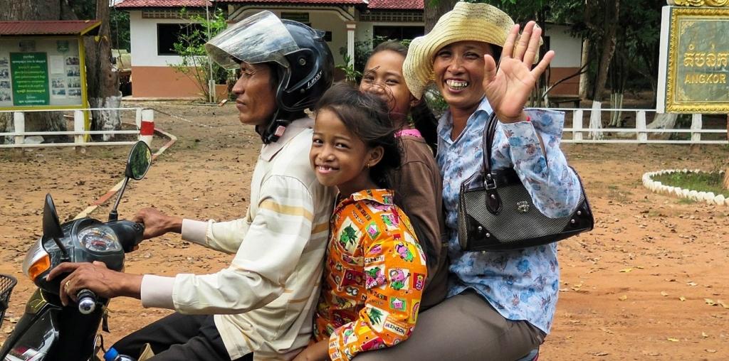 一家族まるごとバイクに乗れるの?