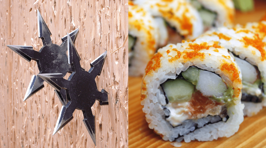 忍者と寿司