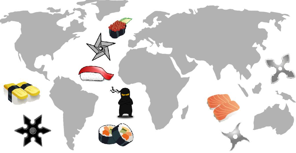 海外展開される日本発の文化