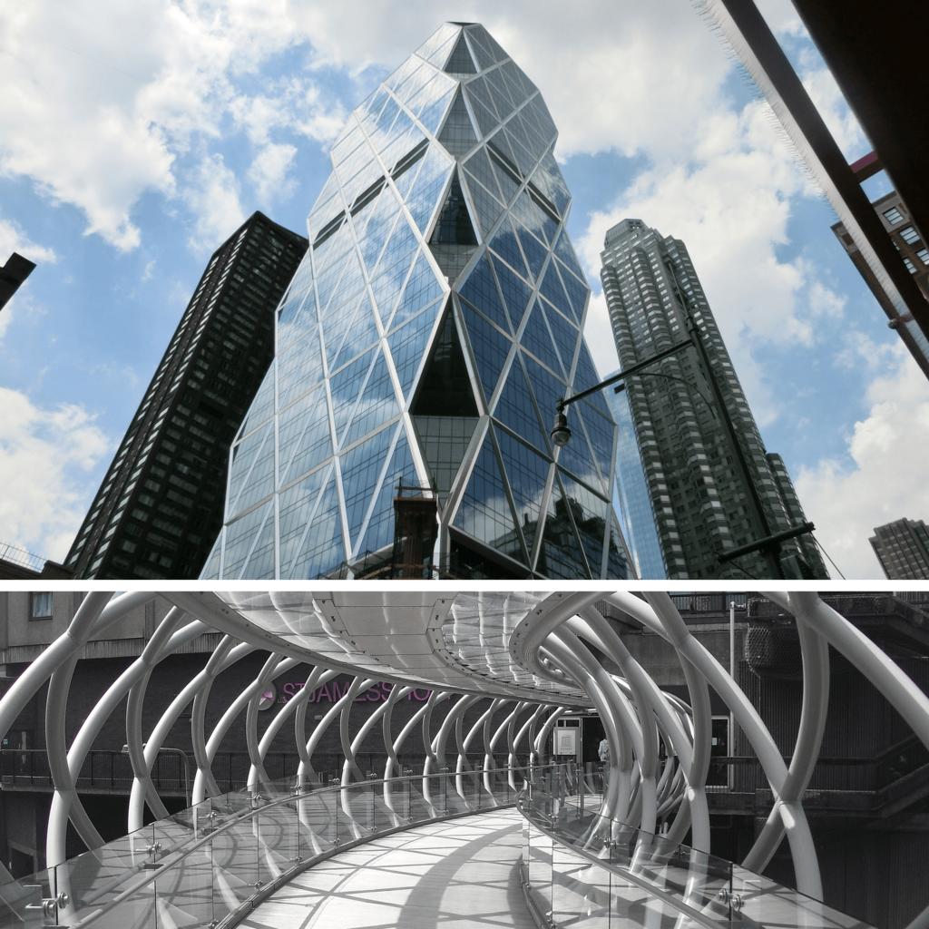 ガラス建築の美しさ