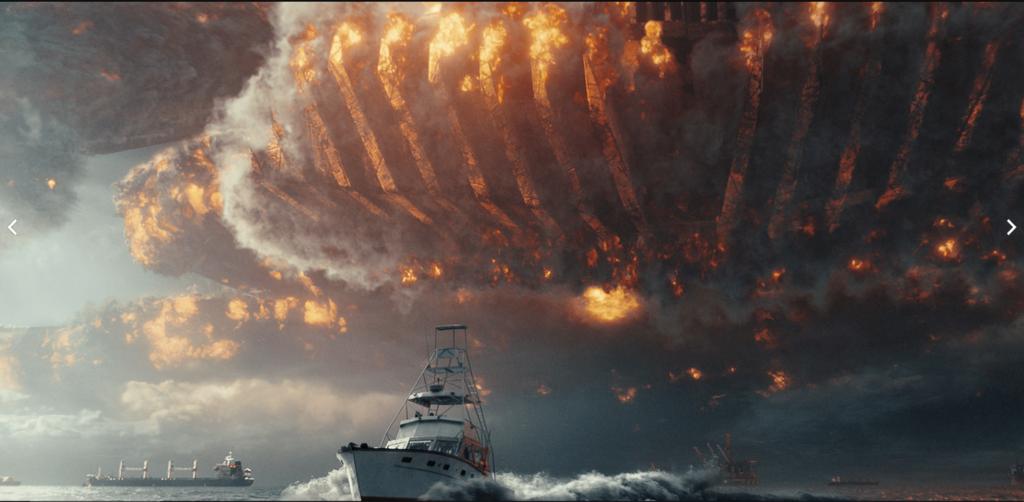 『インデペンデンス・デイ2』で高波のシーン