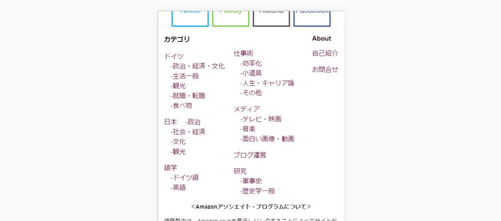 スマホで見たサイトマップ・イメージ