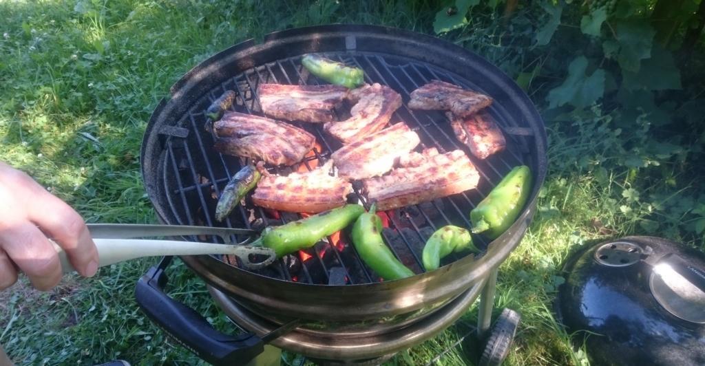 焼き肉のような薄切り肉では焦げてしまう