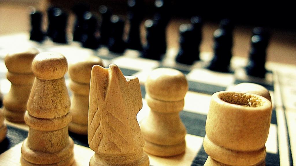 心理的な駆け引きをともなうチェス