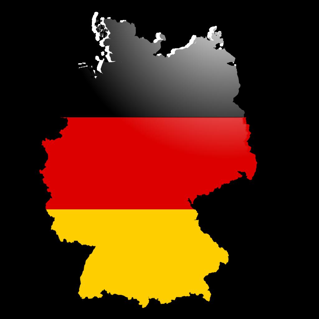 ドイツの国旗と国土