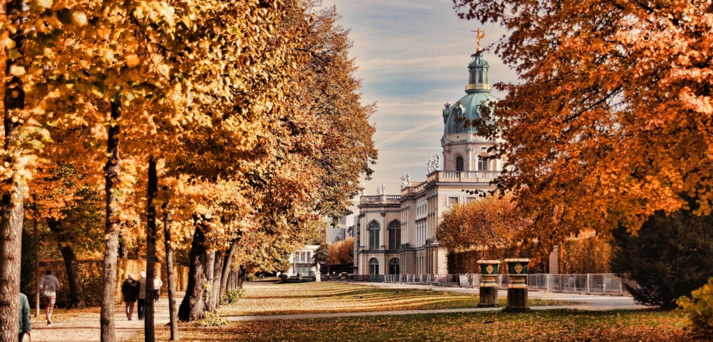 ベルリンの秋の風景