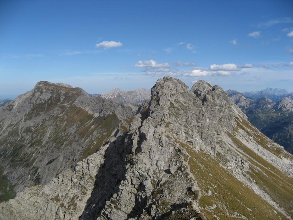 アルゴイ地方の高い山脈