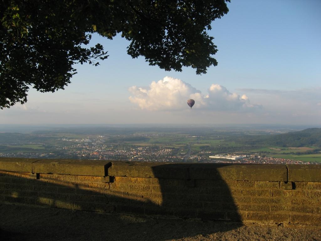 ホーエンツォレルン城から見た風景