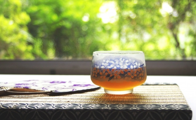 夏は麦茶に限る