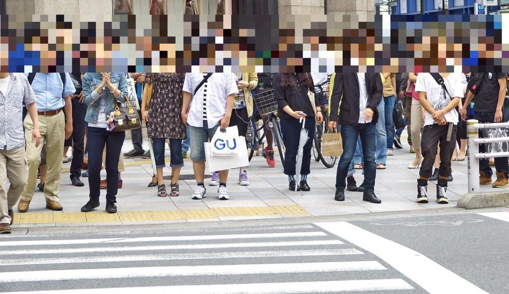 ゴミがあまり見当たらない日本の街並み