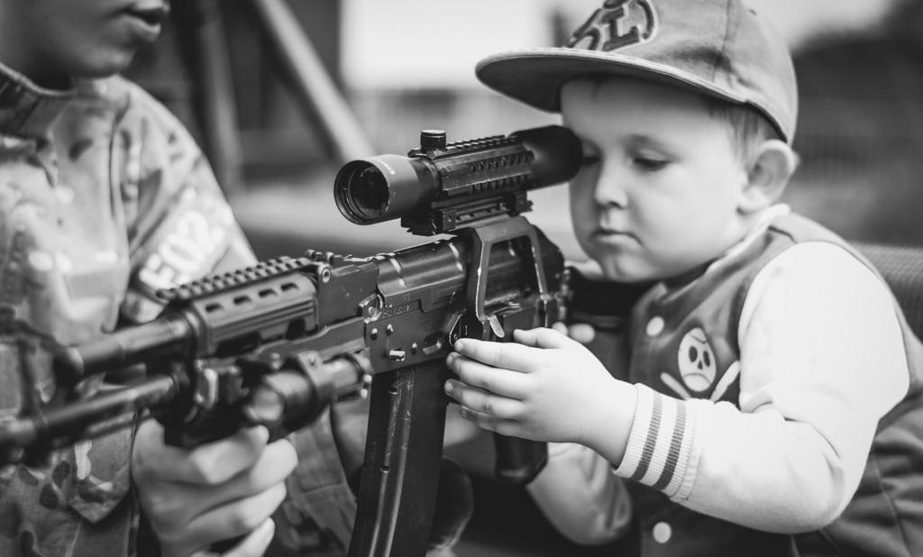 子どもによる銃の事故
